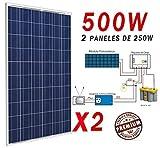 Placa solar 500w panel solar Fotovoltaico Polycrystalline