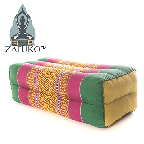 Zafuko Yoga, Meditation, Kundalini and Pilates Cushion (Zafu) Block, Bolster, Floor Pillow