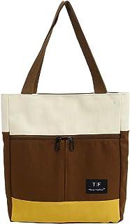Tote Bags for Women Canvas Lightweight Shoulder Bag Casual Handbags Large Capacity Work Bag Travel Handle Bag