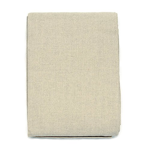 BGEUROPE Mantel de Lino Rectangle – Tamaño Grande, Lino, Beige, 59 x 98 (150 x 250cm)