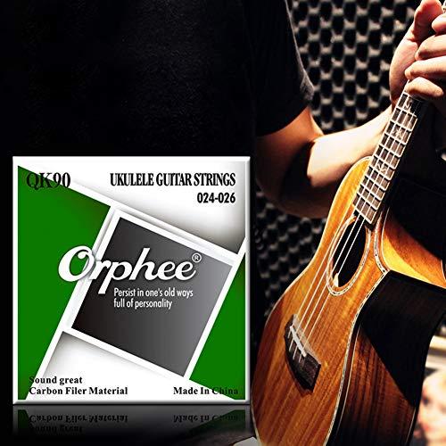 LanLan Orphee QK-90 4 snaren voor ukelele, snaren voor kleine gitaar