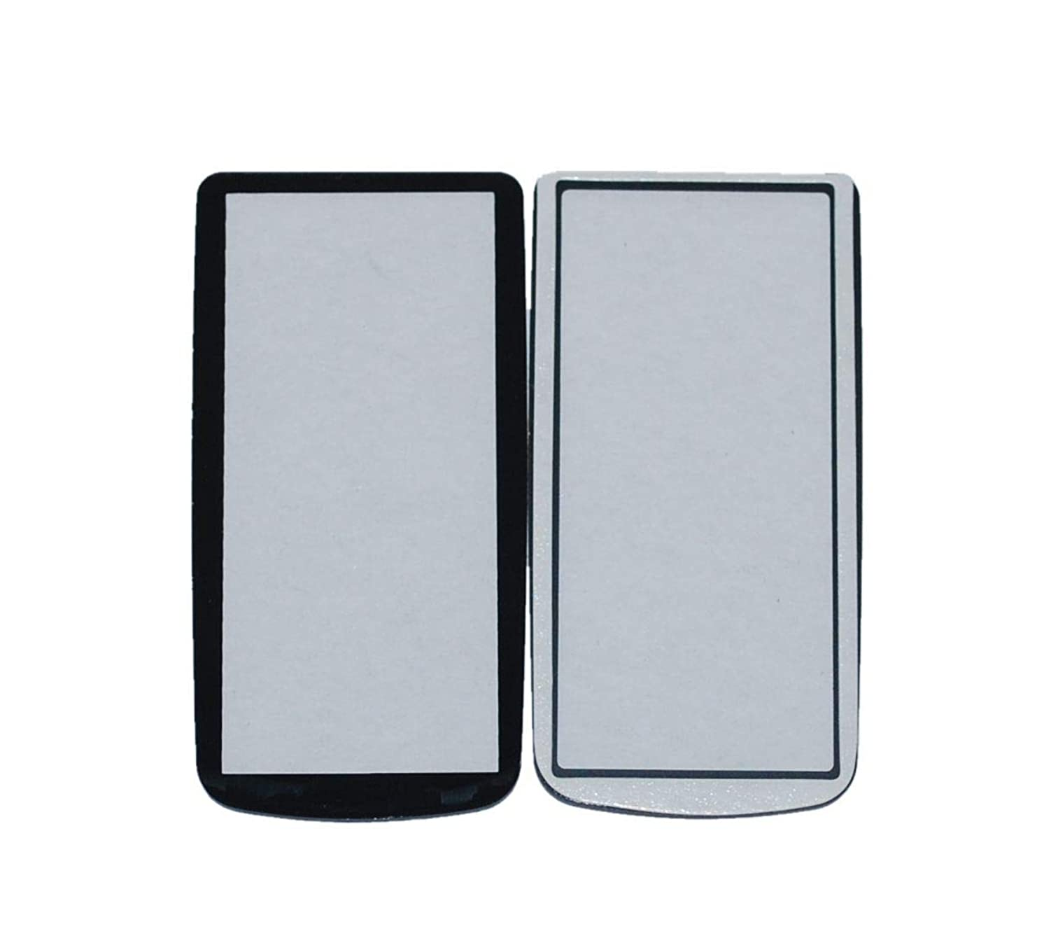 New Top Cover Small LCD Screen Outer Window Glass Protector Replacement With Tape For Nikon D300 D300S Digital Camera