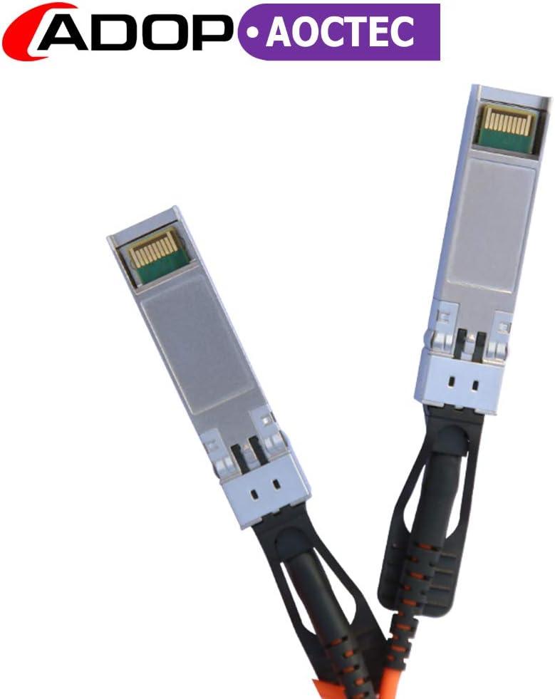 D-Link QNAP Mikrotik Ubiquiti Devices 25G SFP28-SFP28 Cable Active Optical SFP Cable for Cisco Open Switch Devices SFP28-25G-AOC3M Netgear Supermicro