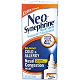 Neo-Synephrine Nasal Spray , Extra Strength Formula, 0.50 Ounces each (Value Pack of 3)