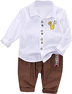 HEETEY Kinder T-Shirt Sommer Oberteile Kleinkind scherzt Baby-Jungen Mittleres kleines Geschwister-Set passende T-Shirts Tops Kurzarm T-Shirt Crew Neck Buchstaben-Print Top