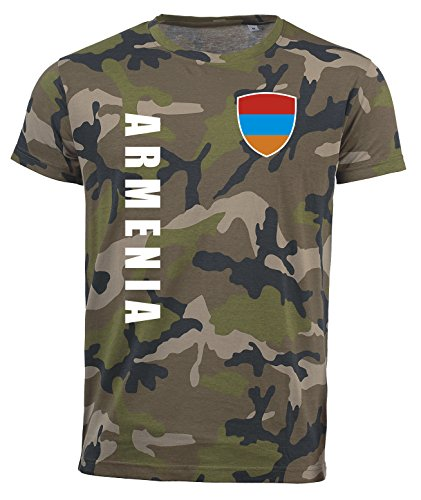 aprom Armenien T-Shirt Camouflage Trikot Look Army Sp/A (L)
