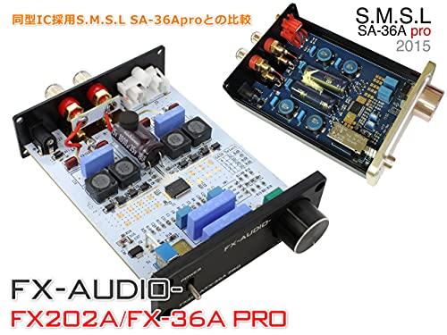 『FX-AUDIO- FX202A/FX-36A PRO『シルバー』TDA7492PEデジタルアンプIC搭載 ステレオパワーアンプ』の5枚目の画像