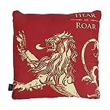 Game of Thrones - Kissen - Lannister - Haus Wappen Logo - 46 x 46 cm - beidseitig Bedruckt
