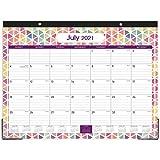 2021-2022 Desk Calendar - Large Desk Calendar 2021-2022, 22' x 16.8', Jul 2021 - Dec 2022, 18 Months Planning, Large Ruled Blocks, Desk/Wall Calendar for Planning and Organizing