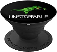 T-Rex Dinosaur Arms I Am Unstoppable Mobile Phone Accessory PopSockets Grip and Stand for Phones and Tablets