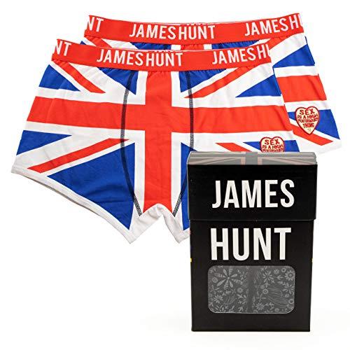 MBA-SPORT James Hunt Boxershorts Union Jack Doppelpack (XXL/3XL)