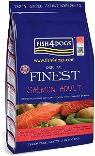 フィッシュ4ドッグ ドッグフード コンプリートフード ファイネスト 小粒 サーモン 1.5kg