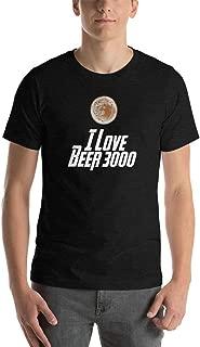 I Love Beer 3000 Short Sleeve Unisex T-Shirt