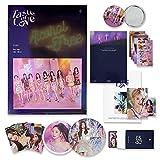 TWICE 10th Mini Album - Taste of Love [ Fallen Ver. ] Photobook + CD-R + Booklet + Lenticular + Tasting Card + Coaster + Photocard + Pre-Order Photocard Set + OFFICIAL POSTER