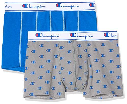 Champion Herren Boxer Coton Mix X2 Boxershorts, Mehrfarbig (Set Street 9fu), XS (2er Pack)