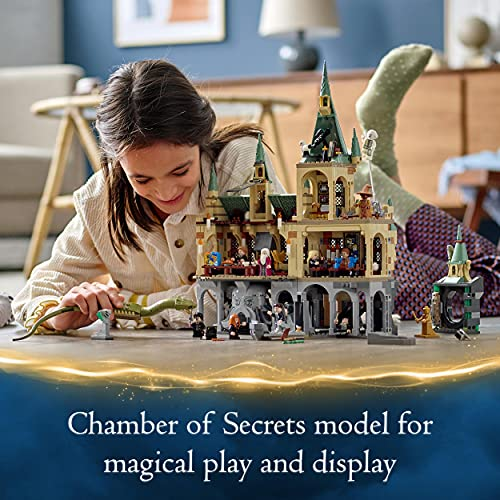 LEGO-76389-Harry-Potter-Hogwarts-Chamber-of-Secrets-Modular-Castle-Toy-with-The-Great-Hall-20th-Anniversary-Set-with-Collectible-Golden-Minifigure