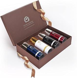 The Man Company Multifaceted No - Gas Deodorant Set   Bleu, Blanc, Noir, Rouge   Body Spray Perfume for Men   Long Lasting...
