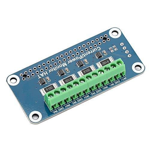 Hochleistungssensor HAT Tragbarer Spannungsstromverbrauchsmonitor All-in-One-Stromverbrauchsmonitor Hochgeschwindigkeits-40-poliger eingebauter 12-Bit-ADC