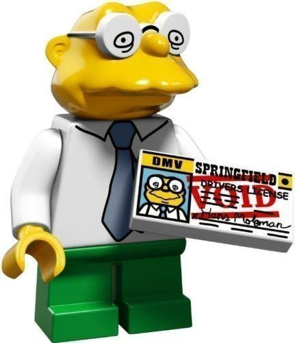 Lego Simpsons Series 2 Pick Your Figure 71009 (Hans Moleman)