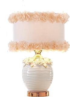 &Leselicht Heiraten Tischlampe Schlafzimmer Nachttisch Nachttisch Nachttisch Lampe Einfache Ehe Raum Leuchten Wohnzimmer Licht ( Farbe   D-Dimmschalter ) B078TV4GQS  Verkaufspreis e2c021