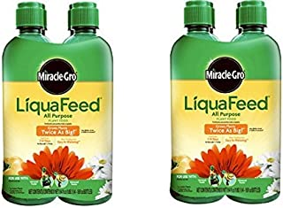MiracleGro LiquaFeed All Purpose Plant Food Refill Pack, (Liquid Plant Fertilizer) 16 oz. (8 Count)
