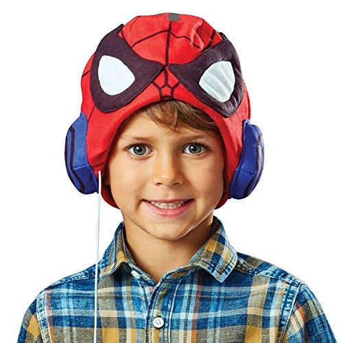 Spider-Man-Chapeau-casque audio - les meilleurs écouteurs pour les enfants hyper branchés