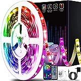 50ft Led Lights for Bedroom, Keepsmile APP Control Music Sync Color Changing Led...