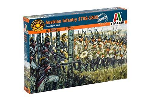 Italeri 6093 - Napoleonic Wars: Austrian Infantry 1798-1805 Scala 1:72