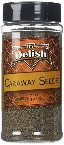Gourmet Caraway Seeds by Its Delish, Medium Jar, 7 oz