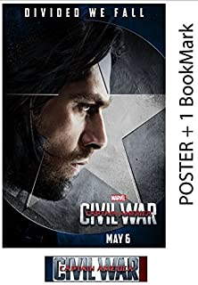 BUCKY - Captain America: Civil War - Movie Poster, Size 24 x 36