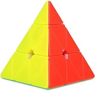 Driehoek Piramide Magische Kubus Kubus Pyraminx Snelheid Magische Kubus Klassieke snelheid 3D Puzzel Driehoek Hersenkraker...