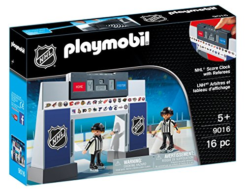 Playmobil 9016 NHL™ Score Clock with 2 Referees