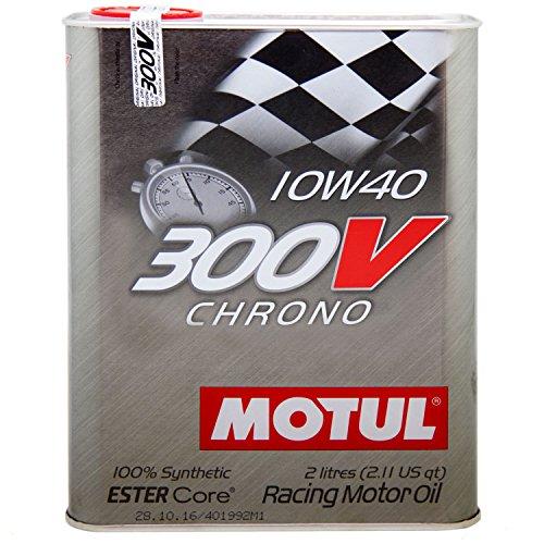 MOTUL 104243300V Chrono IOW40 - Aceite de motor 100% sintético Ester Core,...