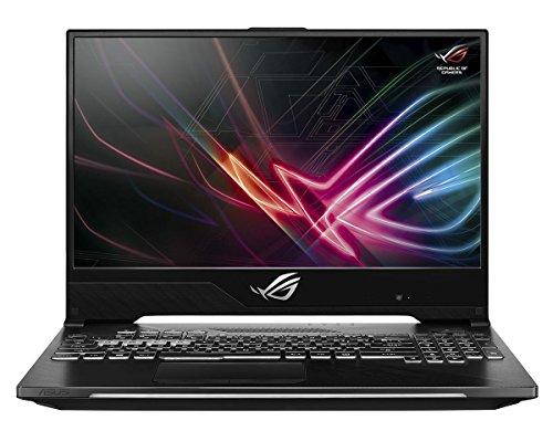 "Asus rog strix hero ii gaming laptop, 15. 6"" 144hz ips-type slim bezel, nvidia geforce gtx 1060 6gb, intel core i7-8750h, 256gb pcie ssd, 8gb ram, gl504gm-wh71"