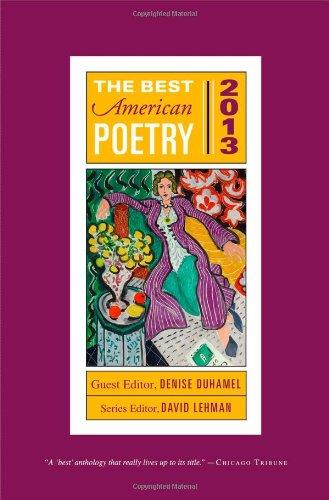 The Best American Poetry 2013 (The Best American Poetry series)