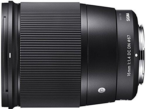 SIGMA16mmF1.4DCDN ContemporaryC017 SonyEマウント APS-C/Super35ミラーレス専用