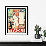 Poster für die Tivoli Gärten in Kopenhagen, 1913 //