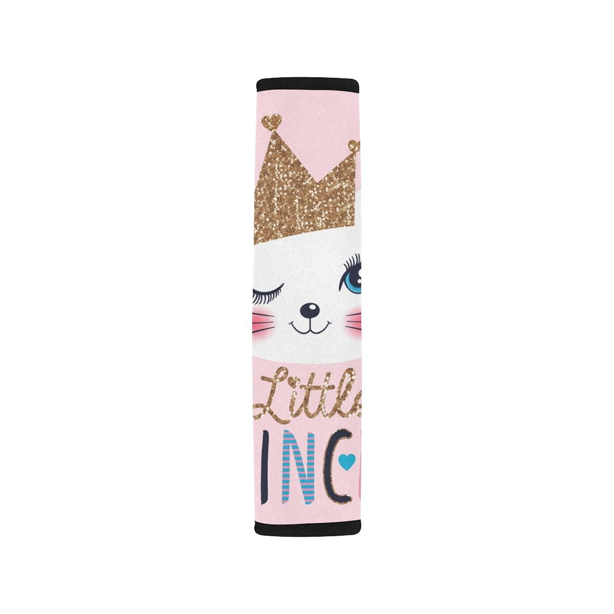 2pcs Car Seat Belt Cover Cute Princess Shoulder Mesa Mall Cat Cov Ranking TOP10 Seatbelt