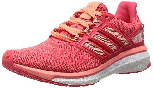 adidas Performance Damen Energy Boost 3 Laufschuhe, Pink (Sun Glow S16/Halo Pink S16/Shock Red S16), 36 EU