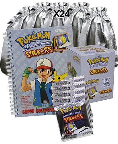 Pokemon - Adventskalender 2019 mit 340 Sticker plus tollem Sammelalbum zum einkleben!