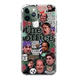 Dunder Mifflin Coffee Mug The Office Phone Case iPhone 7 8 6 6s plus X Xs 12 Mini 11 Pro Max Xr 5 5s SE 2 2020 Worlds Best Boss Case Thats What She Said Schrute Farms Beets Dwight Gifts Clear Cover