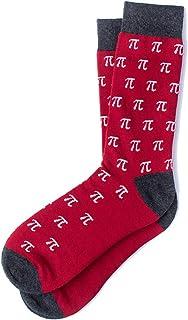 Floowyerion Mens funny mathematics Novelty Sports Socks Crazy Funny Crew Tube Socks