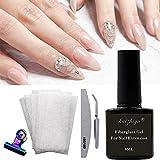 Sponsi Professional Fiberglass Nail Kit Extensión de uñas de fibra para Nail Building Extension Manicure Salon Tool Set DIY Nail Art Acceories For Girl Women