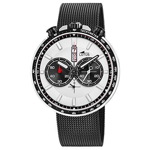 Lotus Orologio Cronografo Quarzo Uomo con Cinturino in Acciaio Inox 10139/1