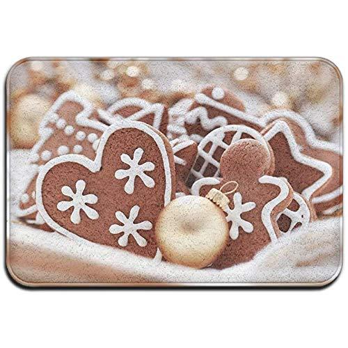 Joe-shop Tapijt Anti-slip Vlek Fade Resistant Deur Mat Crunchy en Chocolade Koekjes Outdoor Indoor Mat Room Tapijt