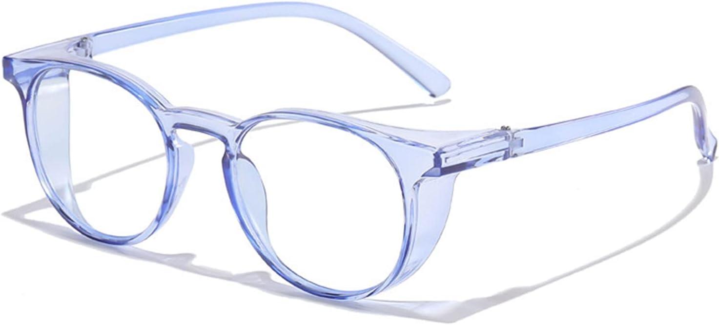 Save New color money Transparent Blue Retro Anti-Fog Anti-Wind Anti-Blue and Glasses