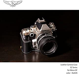 TP Original/ティーピー オリジナル Leather Camera Body Case レザーカメラボディケース for Nikon DF ニコン DF用オシャレ本革カメラケース EZ Series Oil Black
