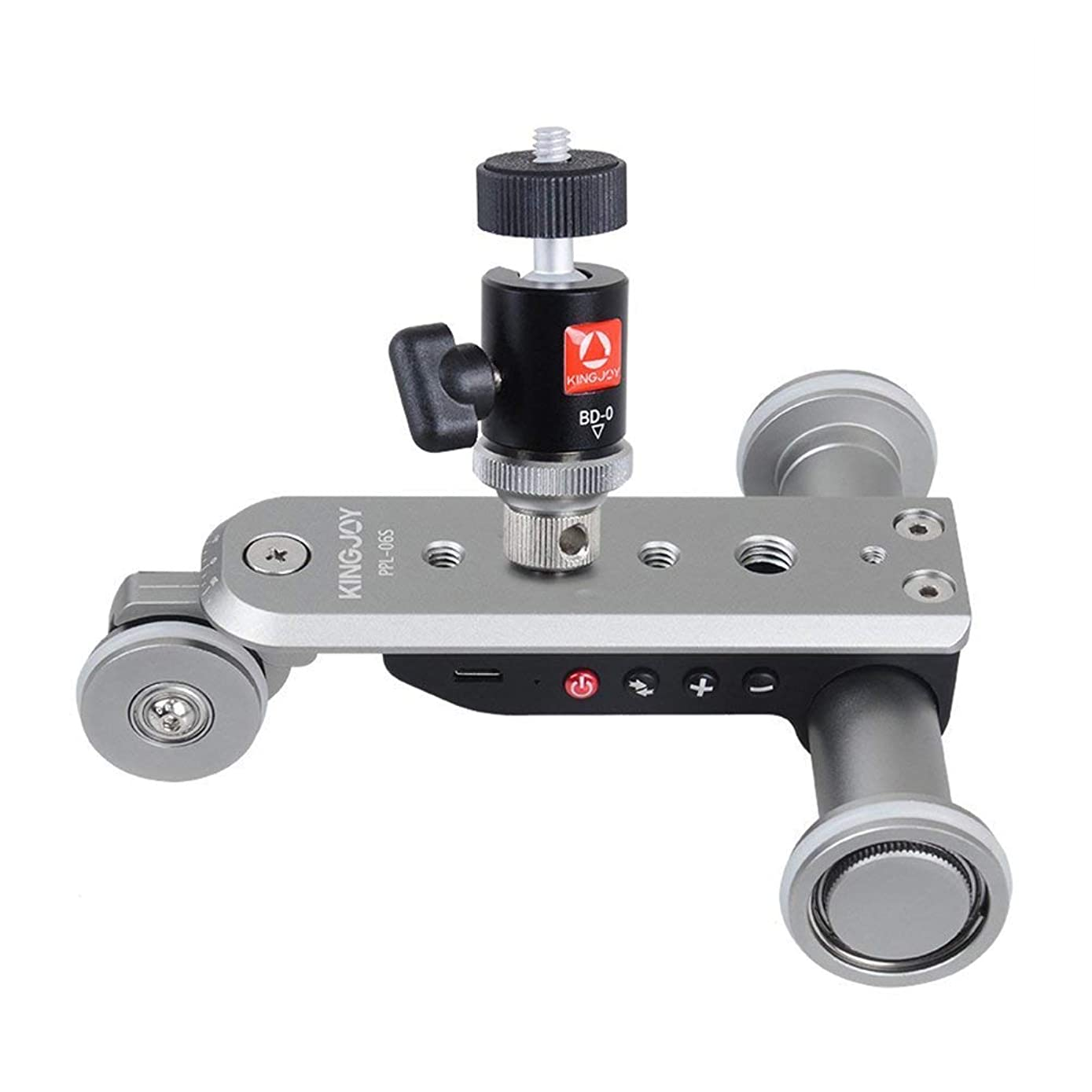 Smart Electric Camera Slider PPL-06S SLR Camera Eectric Mini Five Wheel Video Photography Track Guide for Canon Nikon Sony Digital SLR Camera and Smartphone
