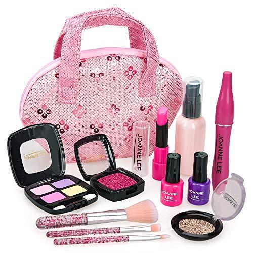 Kinder Make-up für Mädchen Mädchen Spielzeug Alter 6 7 Spielzeug für Mädchen Alter 5 Geschenke für 6 Jahre alte Mädchen Prinzessin Spielzeug für Mädchen Alter 5 Mädchen Make-up Set für Mädchen