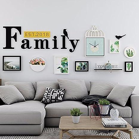 Amazon Com Wuxk The Nordic Photo Wall Decor Modern Minimalist Living Room Wall Art Sofas Wall Paintings Wall Painting Ideas Family Portfolio B Home Kitchen